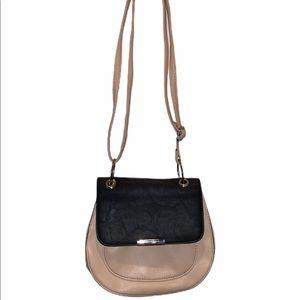 Crossbody small purse cute bag cream and black